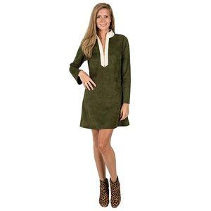 Kaeli Smith Adelaide Tunic Dress Olive